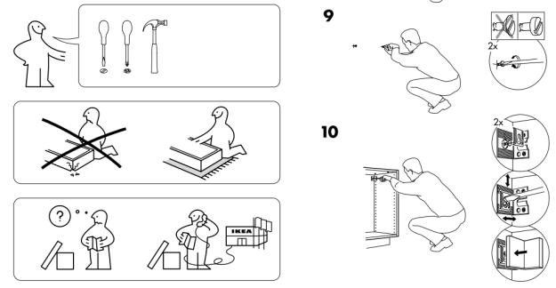 ikea kitchen assembly instructions